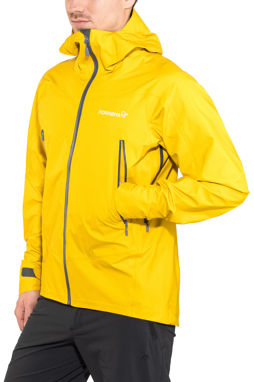 Norrøna Falketind Gore-Tex Jacket Men yellow at Addnature.co.uk a562ed58e